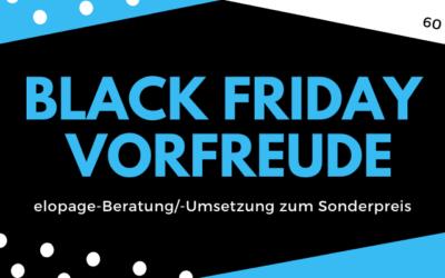Black Friday VORFREUDE Angebot