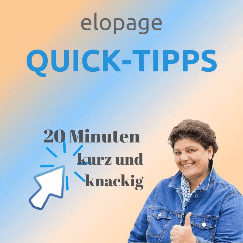elopage quick tipps