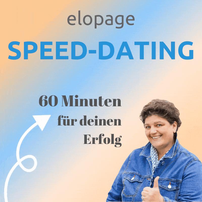 elopage speed dating